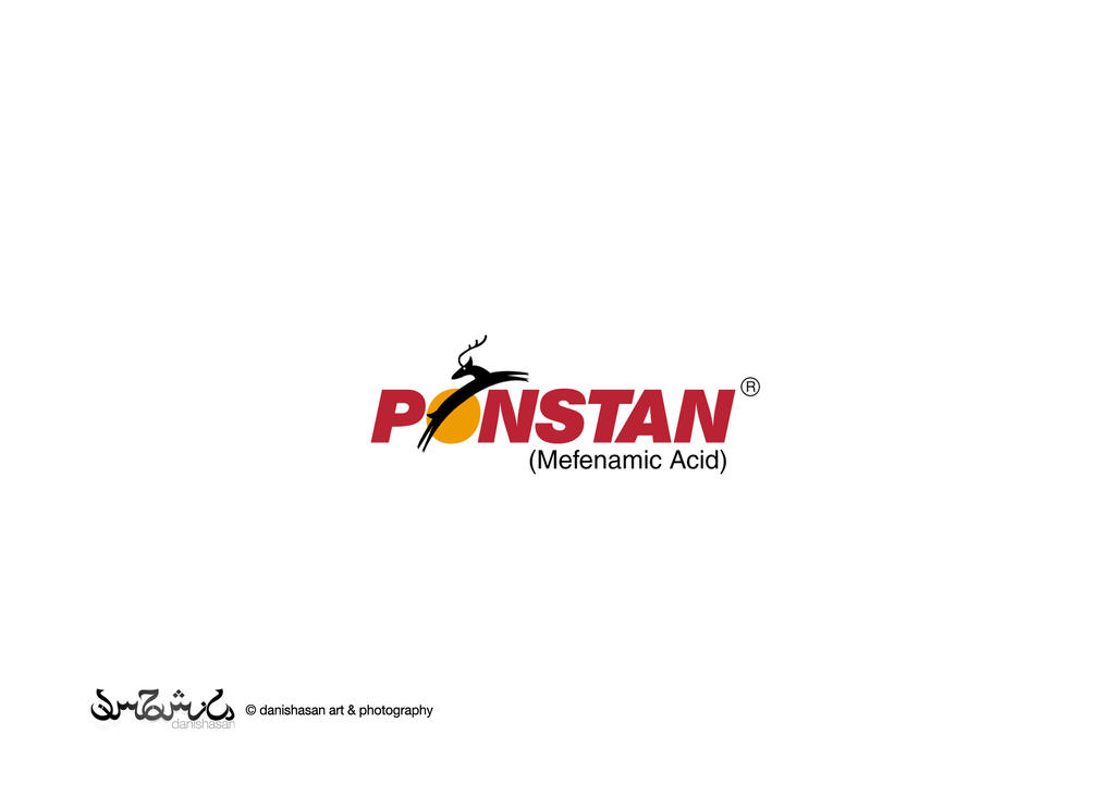 Pfizer Product Logos Pfizer Ponstan Logo by