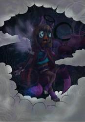 Luna in the sky by Crazy-Luna