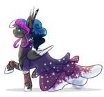 Fallen Moon- Galla Dress