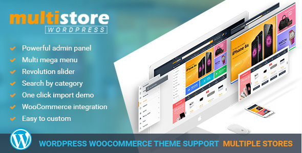 Multi Store Wordpress Theme by sebby1396
