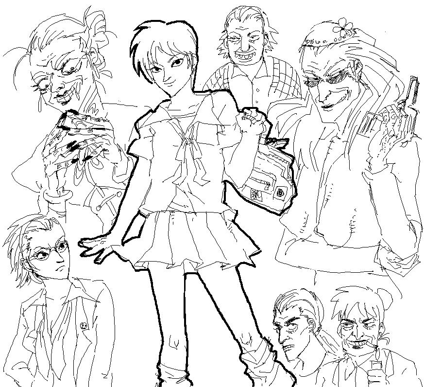 Akagi - genderbender by weaselyperson