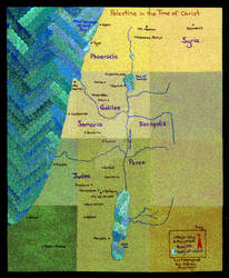 Palestine in the Time of Christ by Vegetabelle