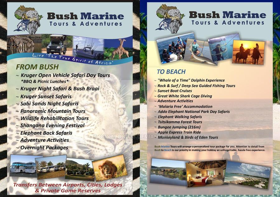 Bush Marine Tours Flyer by Boyaloud88