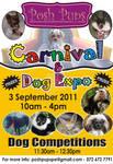 Posh Pups Carnival Flyer