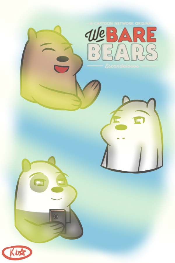 Luvi05 We Bare Bears by luvi05
