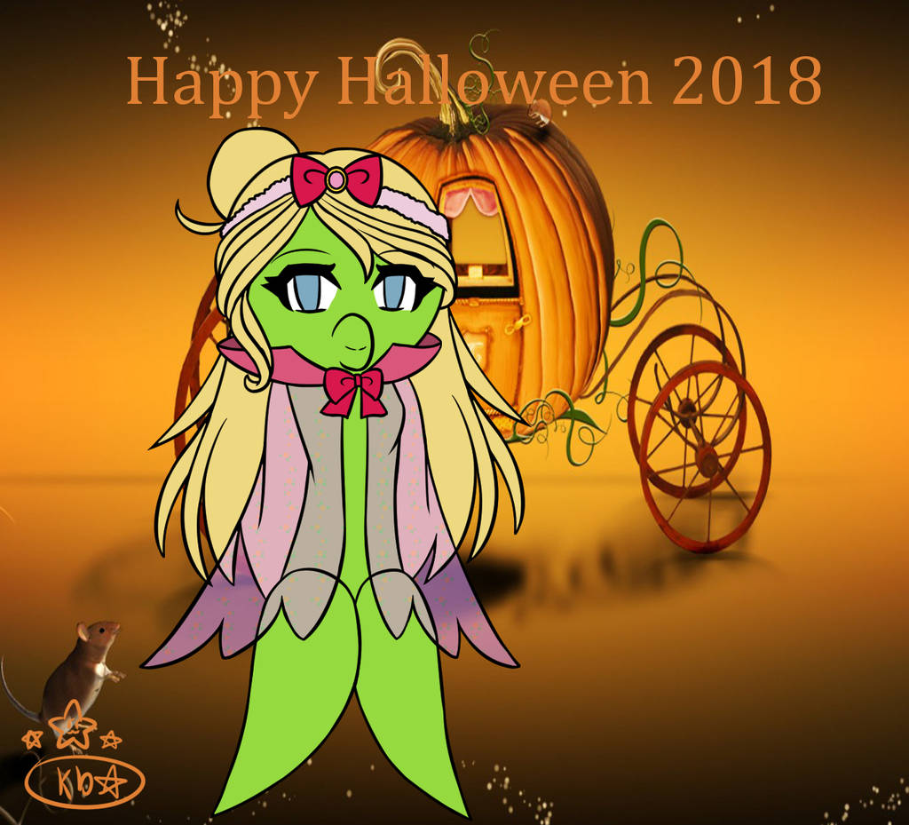 Kimberly as Halloween by luvi05
