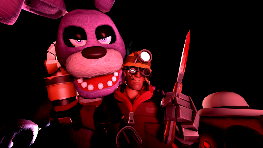 SFM- Seeing Red by OkamiArtist