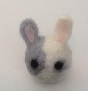 Felting: First Try :D by OkamiArtist