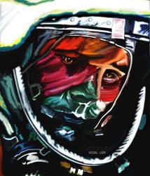 Astronaut smudge by regal0lion