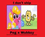 I don't ship Peg x Wubbzy