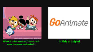 Robotboy, Tommy, Lola and Gus in Goanimate style