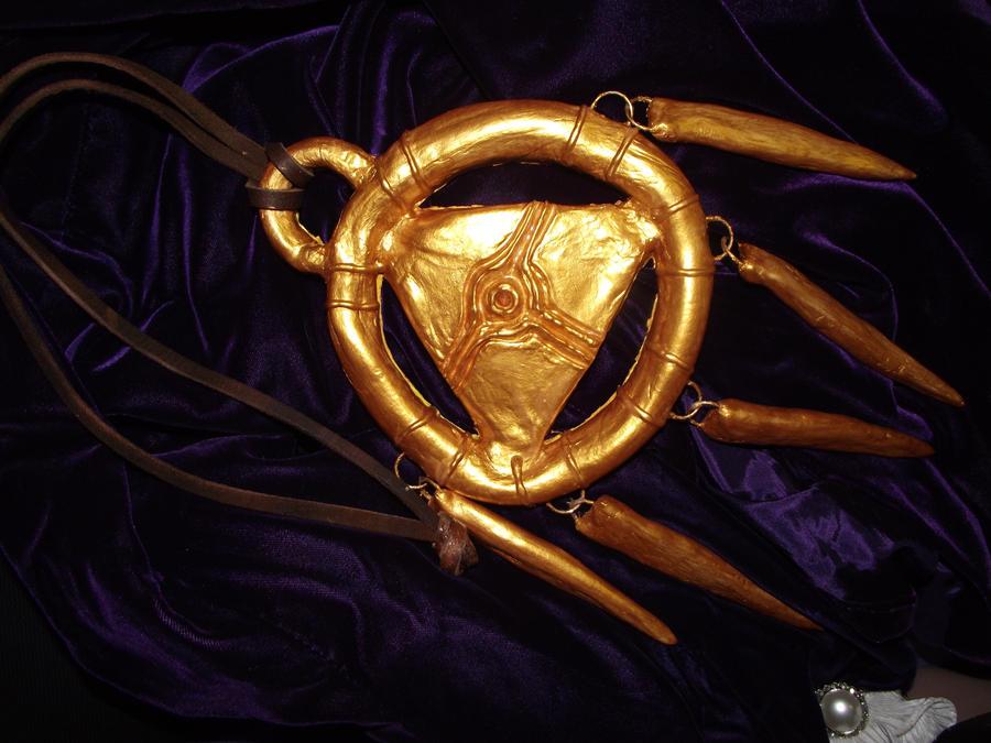 Bakura's Millennium Ring by YachiruFoxTailFairy