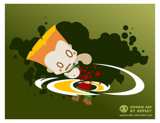 Zombie Guile by appleyrotten
