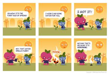 Appley Rotten Comic