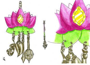 022- Mensageiro dos ventos Lotus 008 by Quincas-OF