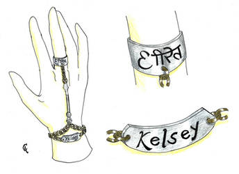 025 - Pulseira Kelsey 011 by Quincas-OF