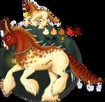 WinterSolstice Mystery Foal Equimine#2:Jayna-Milan