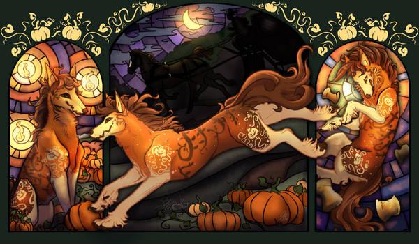 Pumpkin Ghoulsdale Full Panels DTA Entry