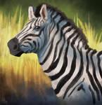 Zebra Quick Painting