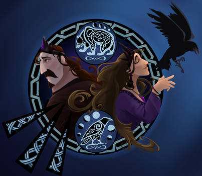 The Bear King and the Queen of Ravens