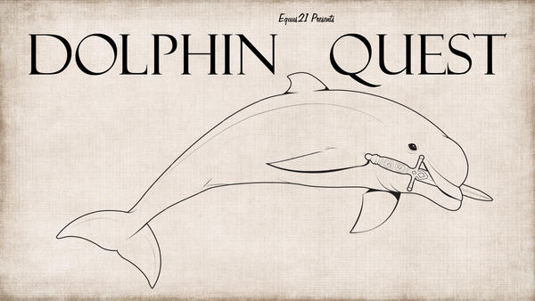 DOLPHIN QUEST (Short Film Poster) by Equus-21