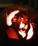 Scar on a Pumpkin