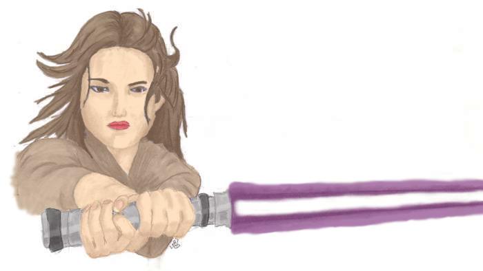 Jaina Solo in color by JediSeeker1