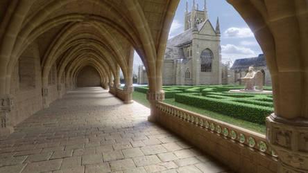 Abbey corridor #1