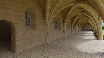 Abbey corridor #2