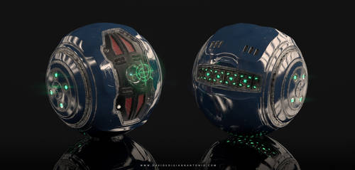 Covenant Plasma Grenade by lordsme