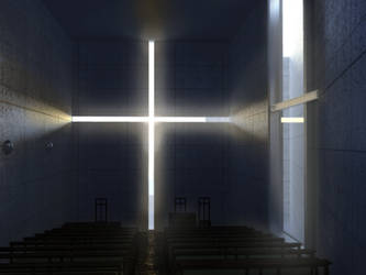 church of light render by notdahangoverguy