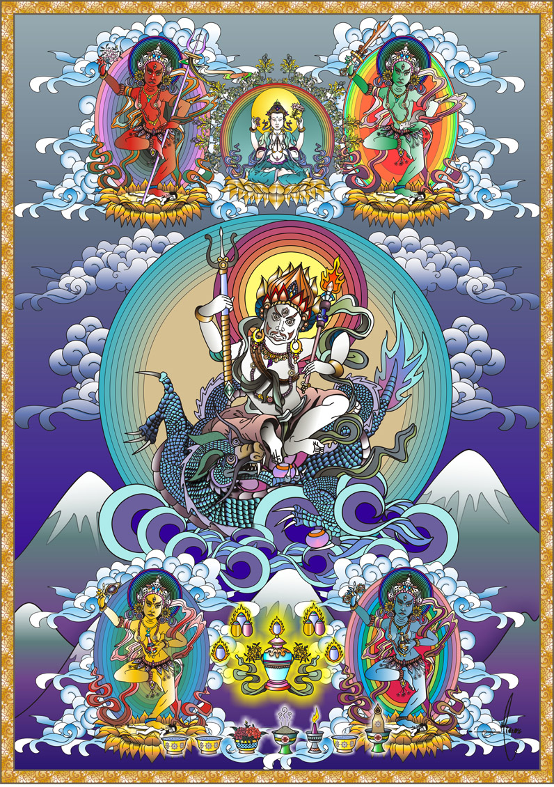Buy Thangka Paintings Online