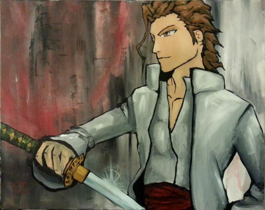 Aizen Senses Ichigo by jgospo00