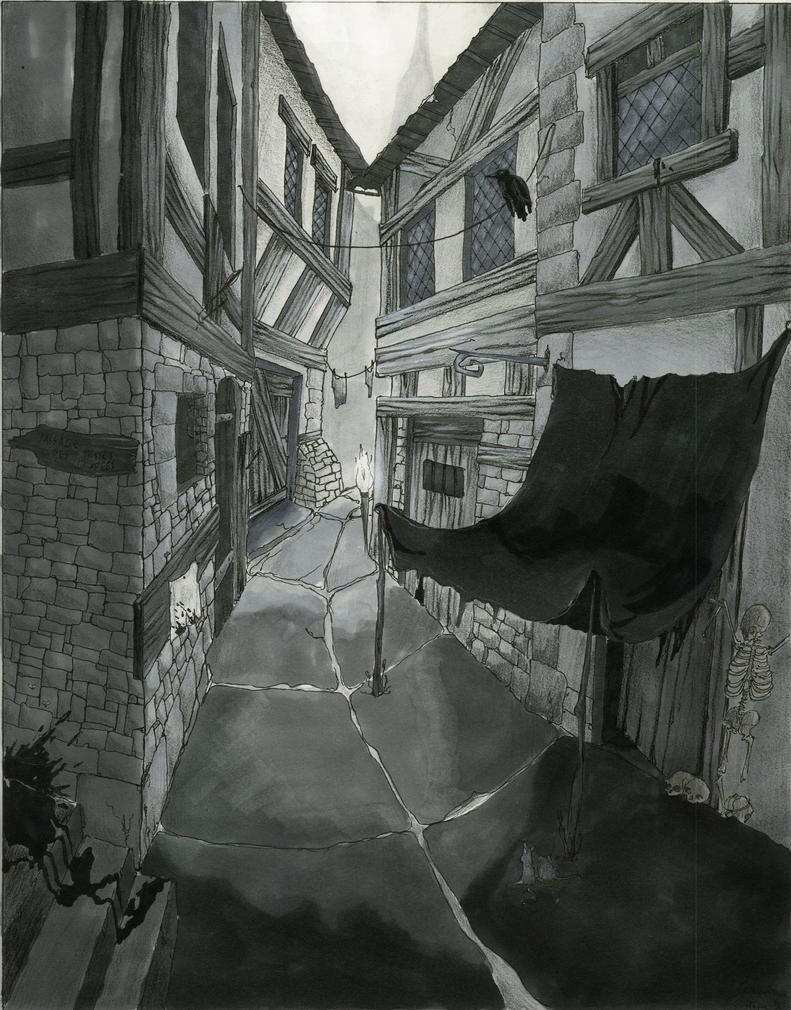 Assassin's street by Ethvarra