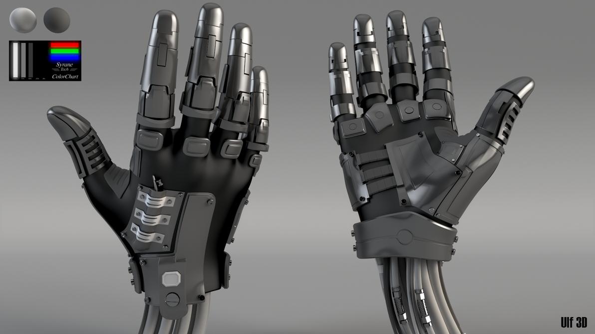 Mech hand by DC74 on DeviantArt
