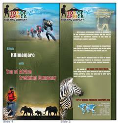 trekking company leaflet by tysmin