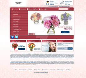 Flowers online shop