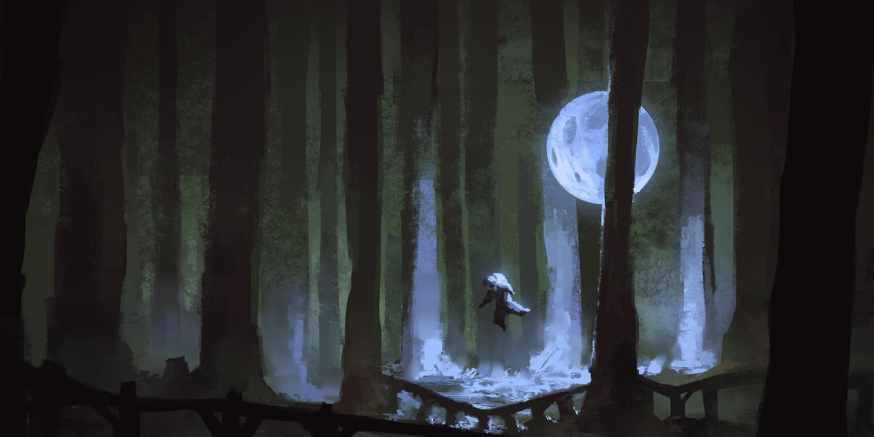 Moon Forest by tsonline