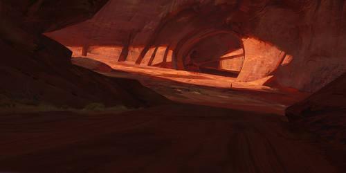 Desert cave by tsonline