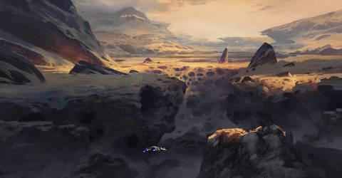 Trollhjem - Surface by tsonline