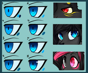 Eye Color Tutorial by Sillycandy