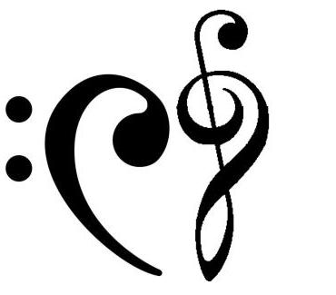 Musical Heart by magdalansaiyantoa
