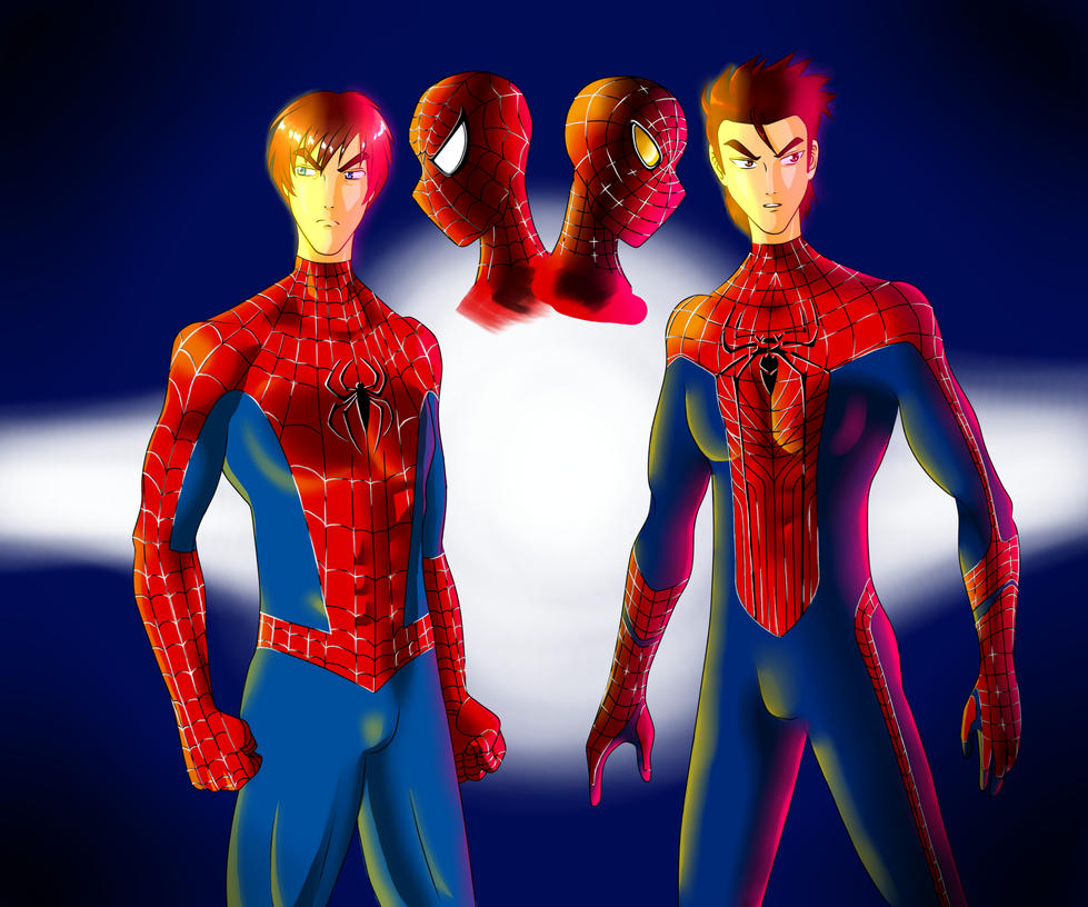 Spiderman classic and new by Roynu on DeviantArt Tobey Maguire Movies