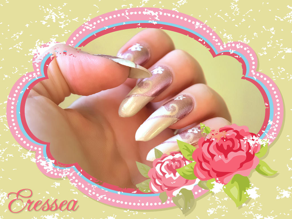 Curly nails by eresseayesta on DeviantArt