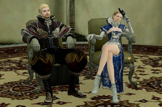 ArcheAge King with Queen