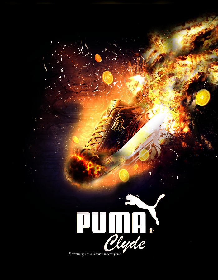 PUMA burning commercial by Snake84