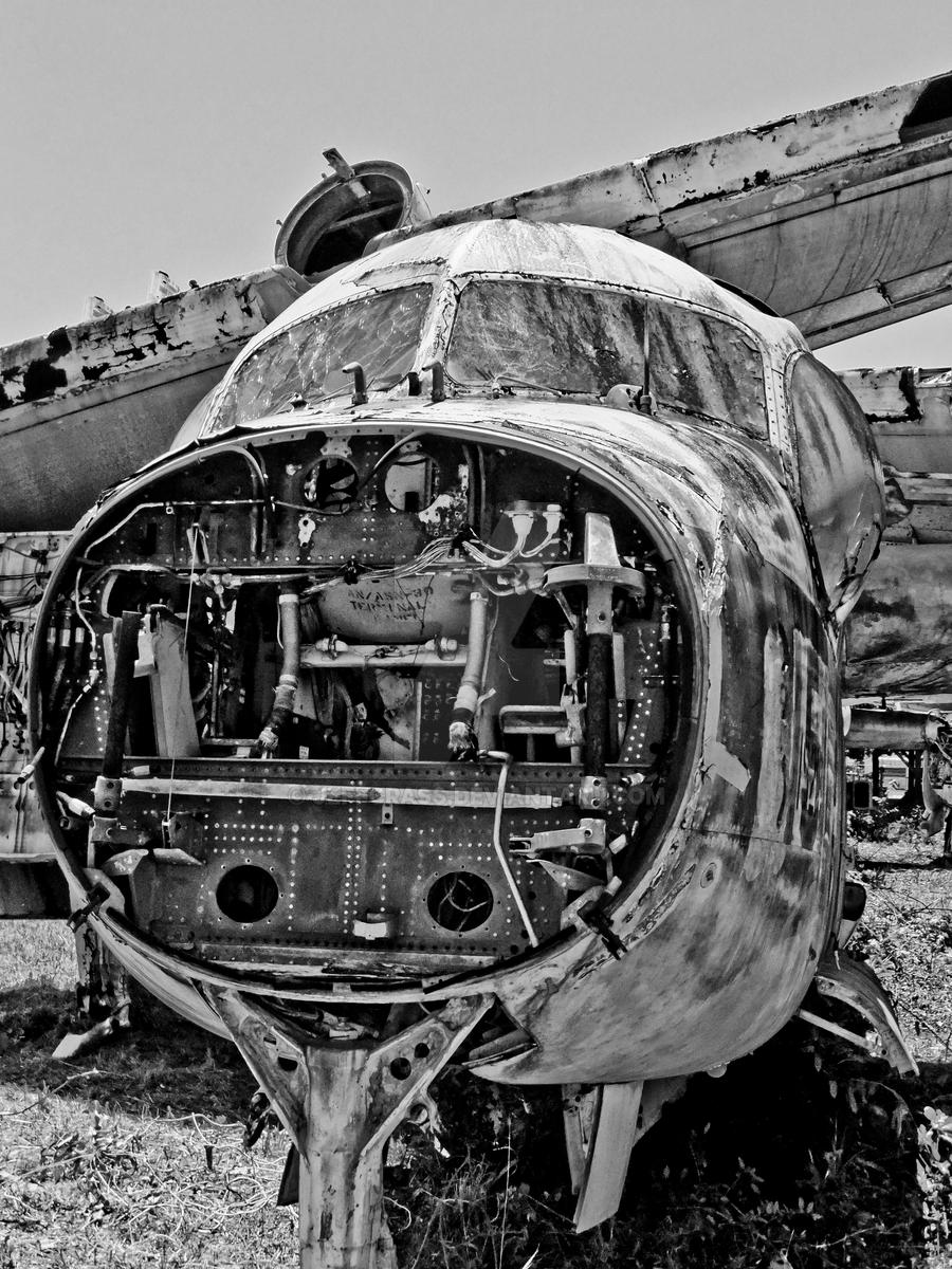 Airplane Graveyard by jeffcrass