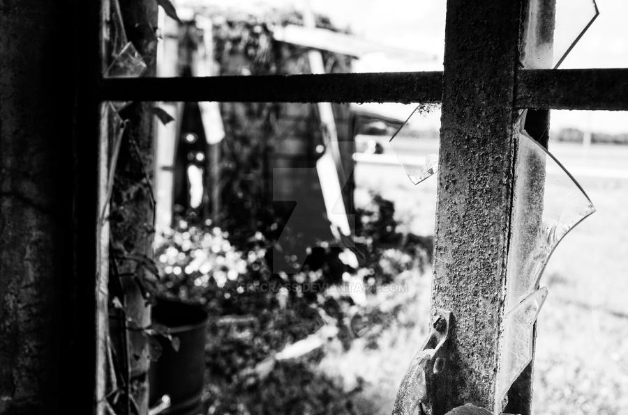 Through The Broken Glass by jeffcrass