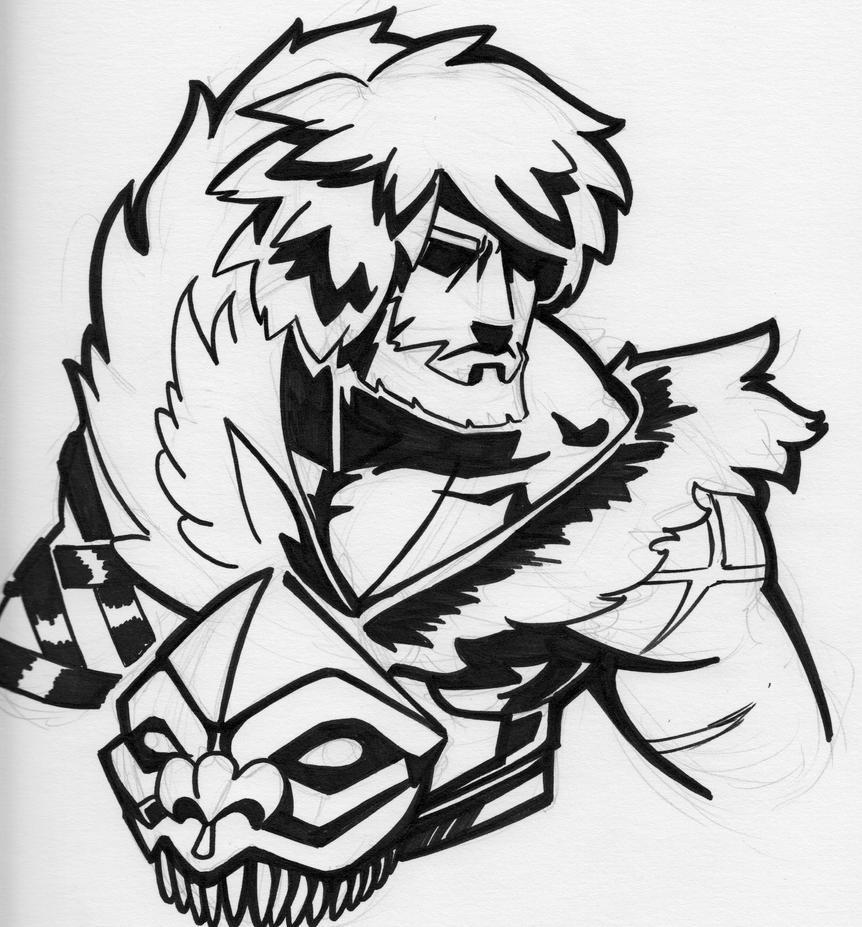 Simon Belmont Sketch by Heriplayer