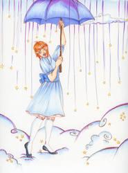Raining Stars by Labyrinthe